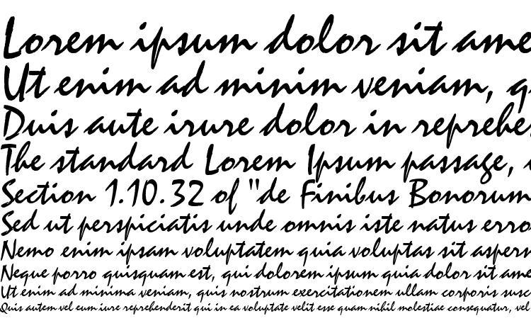specimens ST Zephyr Regular font, sample ST Zephyr Regular font, an example of writing ST Zephyr Regular font, review ST Zephyr Regular font, preview ST Zephyr Regular font, ST Zephyr Regular font