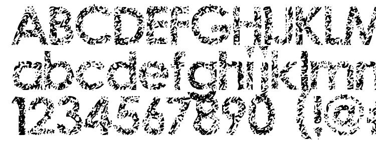 глифы шрифта Staccatissmo, символы шрифта Staccatissmo, символьная карта шрифта Staccatissmo, предварительный просмотр шрифта Staccatissmo, алфавит шрифта Staccatissmo, шрифт Staccatissmo