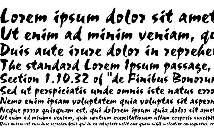 specimens Staccato AV font, sample Staccato AV font, an example of writing Staccato AV font, review Staccato AV font, preview Staccato AV font, Staccato AV font