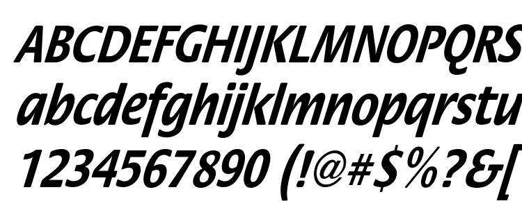 glyphs StackCndObl Bol font, сharacters StackCndObl Bol font, symbols StackCndObl Bol font, character map StackCndObl Bol font, preview StackCndObl Bol font, abc StackCndObl Bol font, StackCndObl Bol font