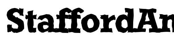 Шрифт StaffordAntique Bold