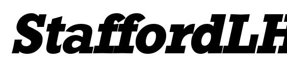 Шрифт StaffordLH Bold Italic
