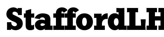 Шрифт StaffordLH Bold