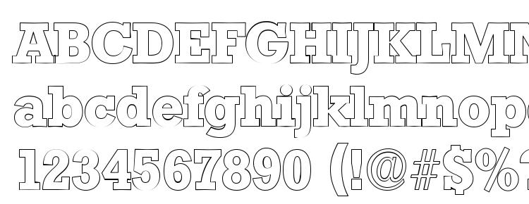 glyphs StaffordOutline Regular font, сharacters StaffordOutline Regular font, symbols StaffordOutline Regular font, character map StaffordOutline Regular font, preview StaffordOutline Regular font, abc StaffordOutline Regular font, StaffordOutline Regular font