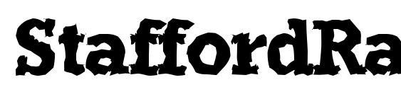 шрифт StaffordRandom Bold, бесплатный шрифт StaffordRandom Bold, предварительный просмотр шрифта StaffordRandom Bold