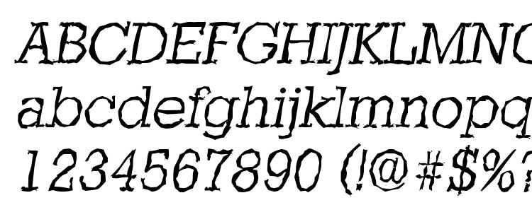 glyphs StaffordRandom Light Italic font, сharacters StaffordRandom Light Italic font, symbols StaffordRandom Light Italic font, character map StaffordRandom Light Italic font, preview StaffordRandom Light Italic font, abc StaffordRandom Light Italic font, StaffordRandom Light Italic font