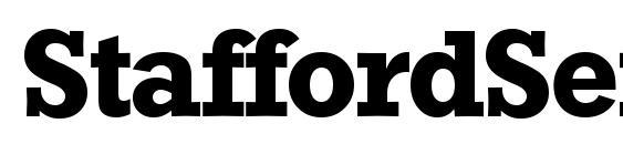 Шрифт StaffordSerial Bold