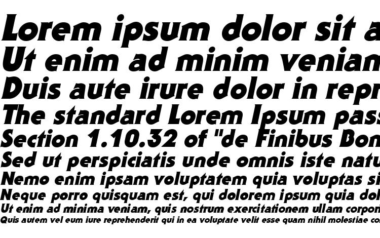 specimens Staid Gothic Black Italic font, sample Staid Gothic Black Italic font, an example of writing Staid Gothic Black Italic font, review Staid Gothic Black Italic font, preview Staid Gothic Black Italic font, Staid Gothic Black Italic font