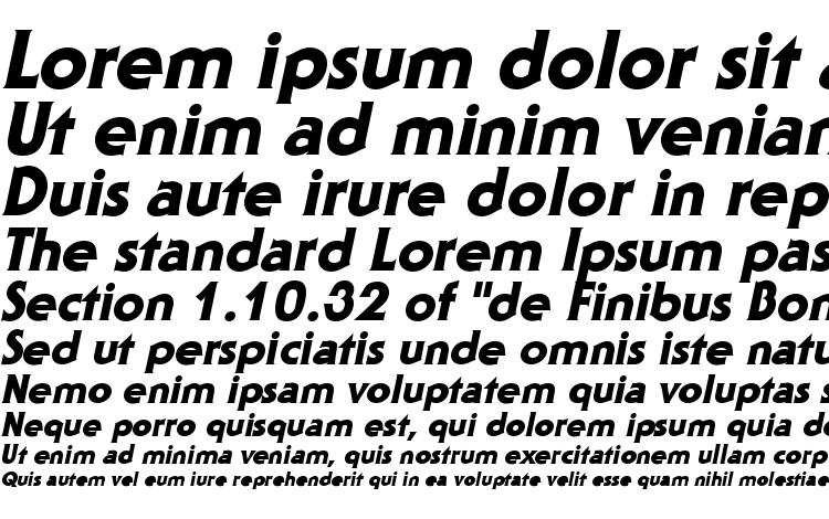 specimens Staid Gothic Heavy Italic font, sample Staid Gothic Heavy Italic font, an example of writing Staid Gothic Heavy Italic font, review Staid Gothic Heavy Italic font, preview Staid Gothic Heavy Italic font, Staid Gothic Heavy Italic font