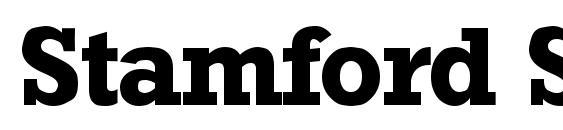 шрифт Stamford SF Bold, бесплатный шрифт Stamford SF Bold, предварительный просмотр шрифта Stamford SF Bold