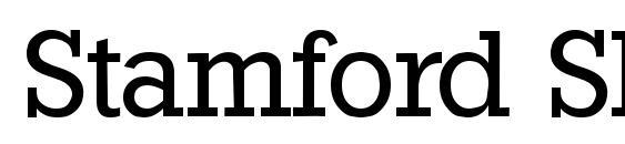 шрифт Stamford SF, бесплатный шрифт Stamford SF, предварительный просмотр шрифта Stamford SF