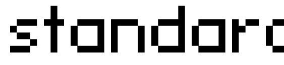 Шрифт standard 07 53
