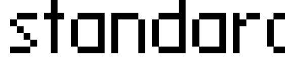 standard 09 55 font, free standard 09 55 font, preview standard 09 55 font