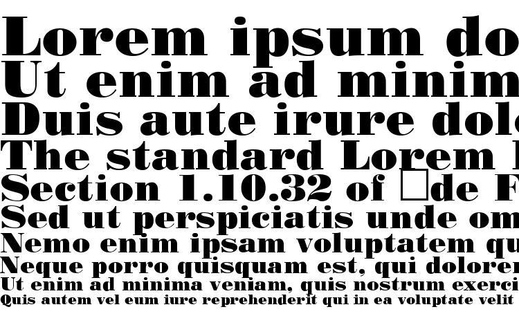 specimens StandardPosterCTT font, sample StandardPosterCTT font, an example of writing StandardPosterCTT font, review StandardPosterCTT font, preview StandardPosterCTT font, StandardPosterCTT font
