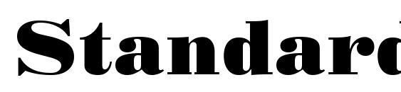Шрифт StandardPosterCTT