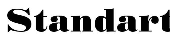 Standart Poster Font