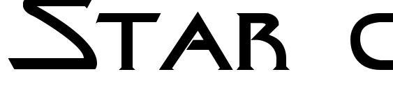 шрифт Star cine, бесплатный шрифт Star cine, предварительный просмотр шрифта Star cine
