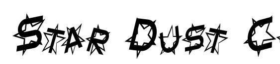 Star Dust Condensed Italic Font