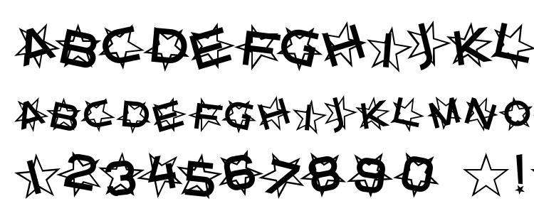 glyphs Star Dust font, сharacters Star Dust font, symbols Star Dust font, character map Star Dust font, preview Star Dust font, abc Star Dust font, Star Dust font