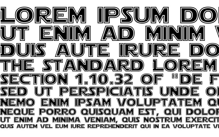 specimens Star jedi outline font, sample Star jedi outline font, an example of writing Star jedi outline font, review Star jedi outline font, preview Star jedi outline font, Star jedi outline font