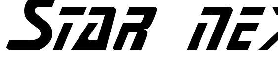 Star next font, free Star next font, preview Star next font