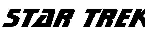 Star Trek Gen Heavy BT Font