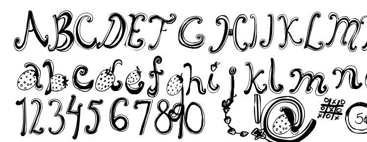 glyphs Starberry Swirl Delight font, сharacters Starberry Swirl Delight font, symbols Starberry Swirl Delight font, character map Starberry Swirl Delight font, preview Starberry Swirl Delight font, abc Starberry Swirl Delight font, Starberry Swirl Delight font