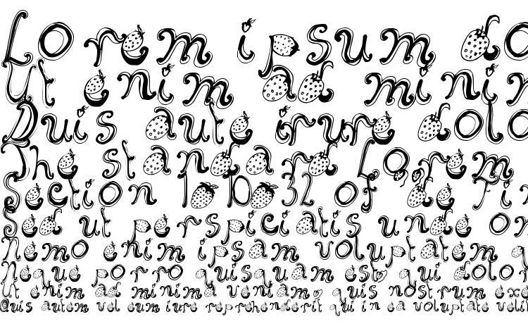 specimens Starberry Swirl Delight font, sample Starberry Swirl Delight font, an example of writing Starberry Swirl Delight font, review Starberry Swirl Delight font, preview Starberry Swirl Delight font, Starberry Swirl Delight font