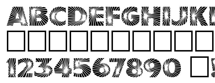 glyphs Starburst font, сharacters Starburst font, symbols Starburst font, character map Starburst font, preview Starburst font, abc Starburst font, Starburst font