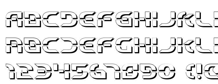 глифы шрифта Starfighter Beta 3D, символы шрифта Starfighter Beta 3D, символьная карта шрифта Starfighter Beta 3D, предварительный просмотр шрифта Starfighter Beta 3D, алфавит шрифта Starfighter Beta 3D, шрифт Starfighter Beta 3D