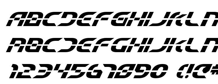 glyphs Starfighter Beta Bold Italic font, сharacters Starfighter Beta Bold Italic font, symbols Starfighter Beta Bold Italic font, character map Starfighter Beta Bold Italic font, preview Starfighter Beta Bold Italic font, abc Starfighter Beta Bold Italic font, Starfighter Beta Bold Italic font
