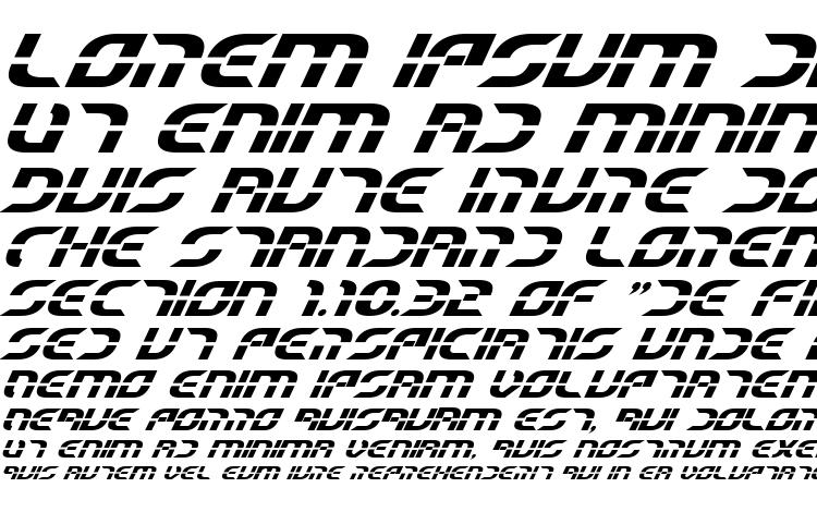specimens Starfighter Beta Bold Italic font, sample Starfighter Beta Bold Italic font, an example of writing Starfighter Beta Bold Italic font, review Starfighter Beta Bold Italic font, preview Starfighter Beta Bold Italic font, Starfighter Beta Bold Italic font