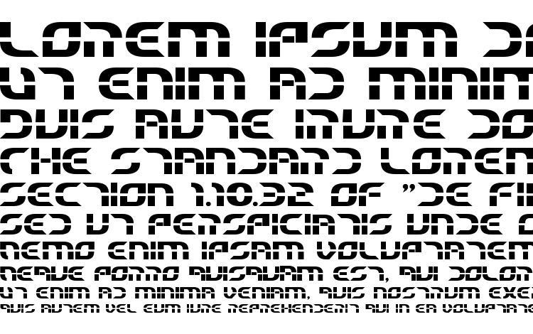 specimens Starfighter Beta Bold font, sample Starfighter Beta Bold font, an example of writing Starfighter Beta Bold font, review Starfighter Beta Bold font, preview Starfighter Beta Bold font, Starfighter Beta Bold font