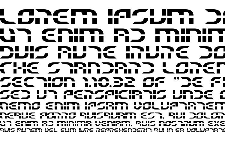 specimens Starfighter Beta font, sample Starfighter Beta font, an example of writing Starfighter Beta font, review Starfighter Beta font, preview Starfighter Beta font, Starfighter Beta font