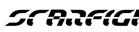 Starfighter Bold Italic Font