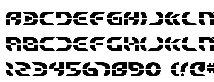 glyphs Starfighter Bold font, сharacters Starfighter Bold font, symbols Starfighter Bold font, character map Starfighter Bold font, preview Starfighter Bold font, abc Starfighter Bold font, Starfighter Bold font