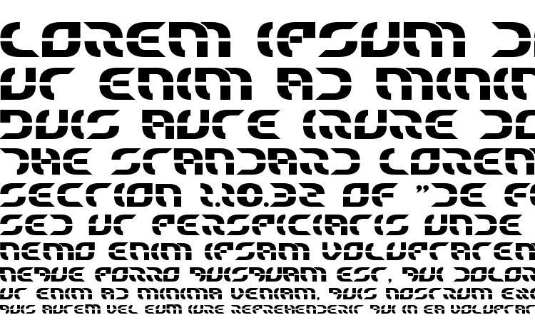 specimens Starfighter Bold font, sample Starfighter Bold font, an example of writing Starfighter Bold font, review Starfighter Bold font, preview Starfighter Bold font, Starfighter Bold font