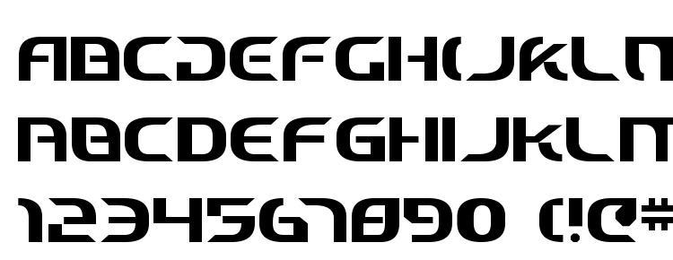 glyphs Starfighter Cadet font, сharacters Starfighter Cadet font, symbols Starfighter Cadet font, character map Starfighter Cadet font, preview Starfighter Cadet font, abc Starfighter Cadet font, Starfighter Cadet font