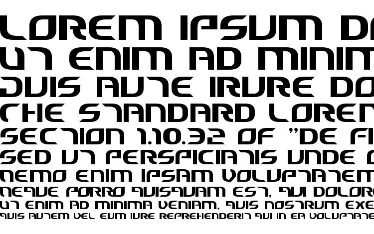 specimens Starfighter Cadet font, sample Starfighter Cadet font, an example of writing Starfighter Cadet font, review Starfighter Cadet font, preview Starfighter Cadet font, Starfighter Cadet font