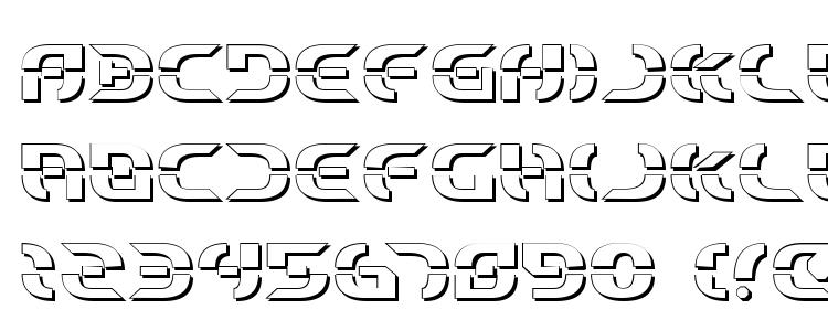 glyphs Starfighter Shadow font, сharacters Starfighter Shadow font, symbols Starfighter Shadow font, character map Starfighter Shadow font, preview Starfighter Shadow font, abc Starfighter Shadow font, Starfighter Shadow font
