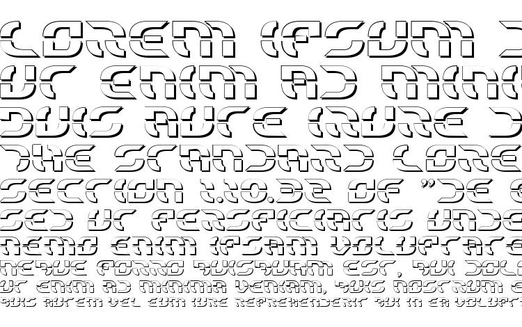 specimens Starfighter Shadow font, sample Starfighter Shadow font, an example of writing Starfighter Shadow font, review Starfighter Shadow font, preview Starfighter Shadow font, Starfighter Shadow font