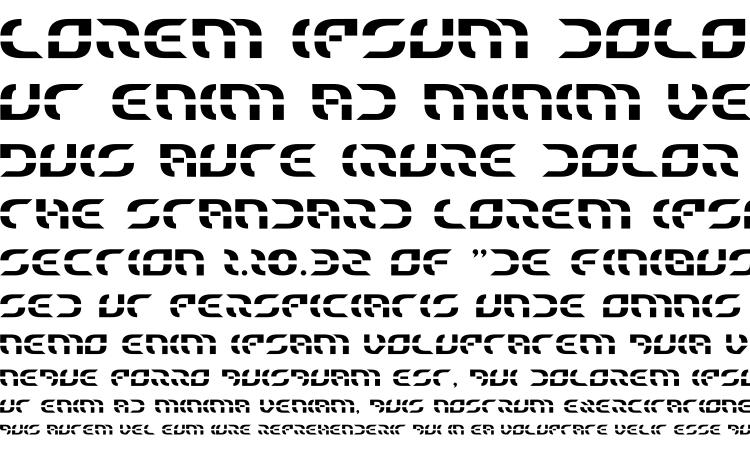 specimens Starfighter font, sample Starfighter font, an example of writing Starfighter font, review Starfighter font, preview Starfighter font, Starfighter font