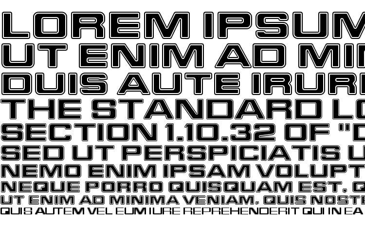 specimens Starfleet Bold Extended BT font, sample Starfleet Bold Extended BT font, an example of writing Starfleet Bold Extended BT font, review Starfleet Bold Extended BT font, preview Starfleet Bold Extended BT font, Starfleet Bold Extended BT font