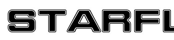 шрифт Starfleet Bold Extended BT, бесплатный шрифт Starfleet Bold Extended BT, предварительный просмотр шрифта Starfleet Bold Extended BT