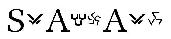 Шрифт Stargate