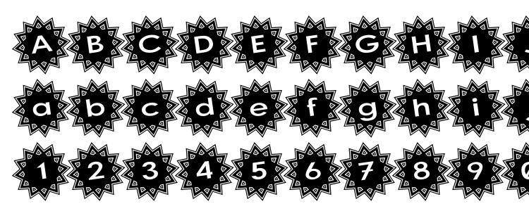 glyphs Stargit Ver2 font, сharacters Stargit Ver2 font, symbols Stargit Ver2 font, character map Stargit Ver2 font, preview Stargit Ver2 font, abc Stargit Ver2 font, Stargit Ver2 font