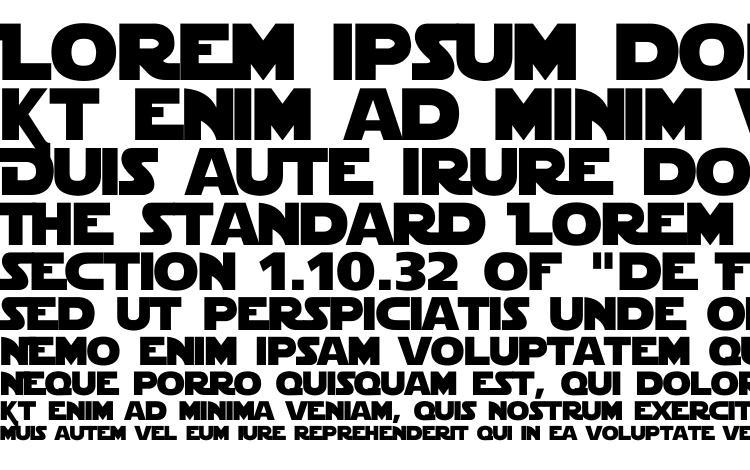 образцы шрифта Starjedi special edition, образец шрифта Starjedi special edition, пример написания шрифта Starjedi special edition, просмотр шрифта Starjedi special edition, предосмотр шрифта Starjedi special edition, шрифт Starjedi special edition