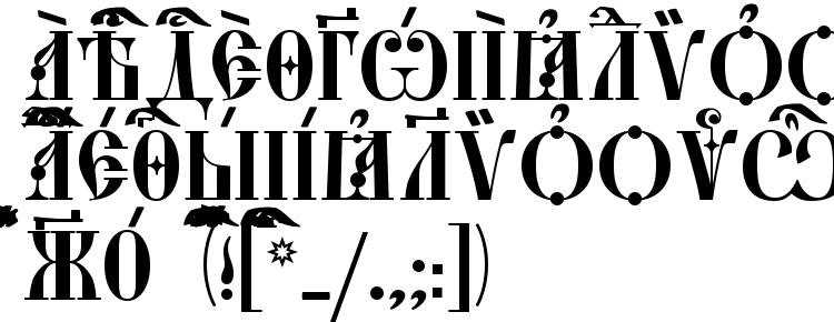 glyphs StaroUspenskaya Caps ieUcs font, сharacters StaroUspenskaya Caps ieUcs font, symbols StaroUspenskaya Caps ieUcs font, character map StaroUspenskaya Caps ieUcs font, preview StaroUspenskaya Caps ieUcs font, abc StaroUspenskaya Caps ieUcs font, StaroUspenskaya Caps ieUcs font