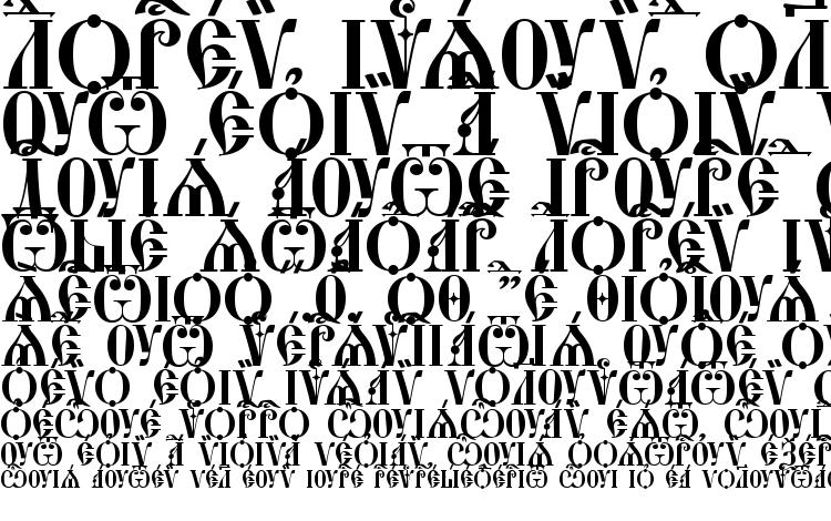 specimens StaroUspenskaya Caps ieUcs font, sample StaroUspenskaya Caps ieUcs font, an example of writing StaroUspenskaya Caps ieUcs font, review StaroUspenskaya Caps ieUcs font, preview StaroUspenskaya Caps ieUcs font, StaroUspenskaya Caps ieUcs font
