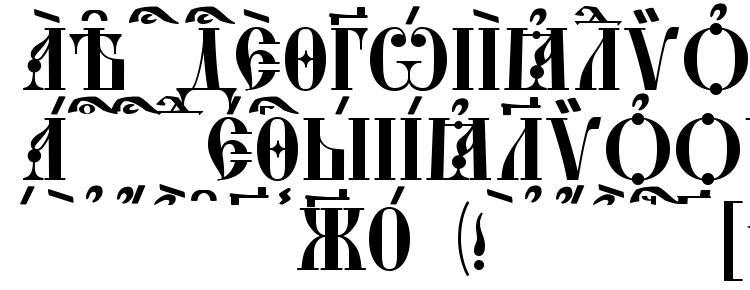 глифы шрифта StaroUspenskaya Caps kUcs, символы шрифта StaroUspenskaya Caps kUcs, символьная карта шрифта StaroUspenskaya Caps kUcs, предварительный просмотр шрифта StaroUspenskaya Caps kUcs, алфавит шрифта StaroUspenskaya Caps kUcs, шрифт StaroUspenskaya Caps kUcs
